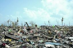 Philippines après le passage  de Haiyan